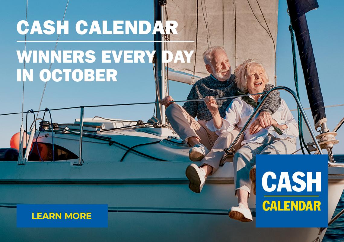 SickKids Lottery Cash Calendar