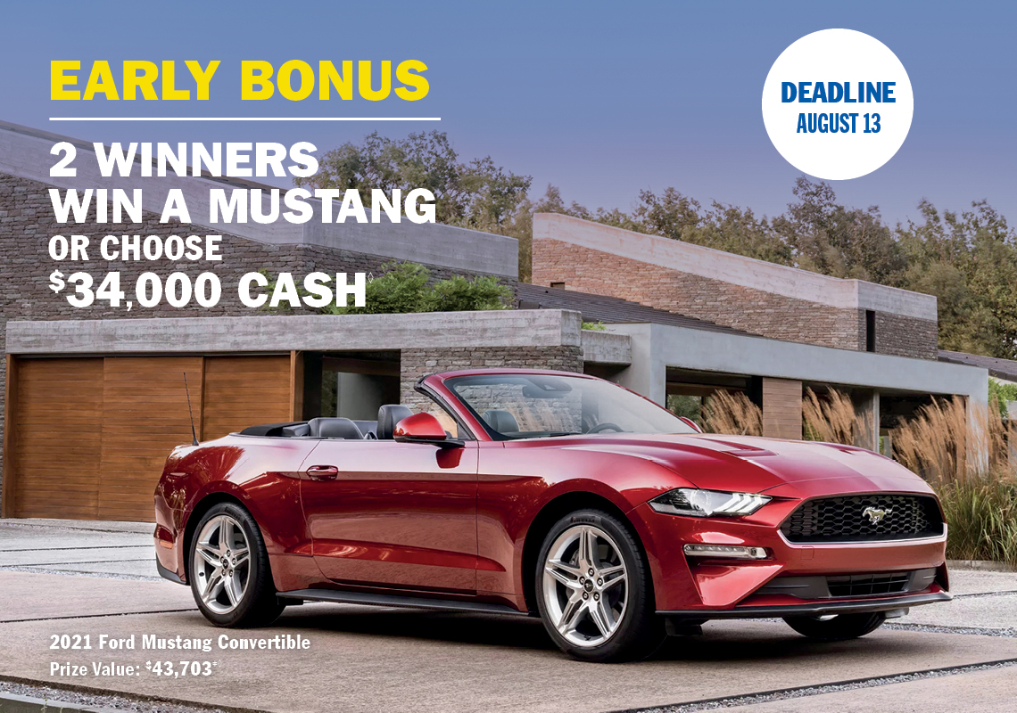 SickKids Lottery Early Bonus Prize